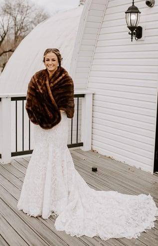 Furber Farm Winter Wedding Image
